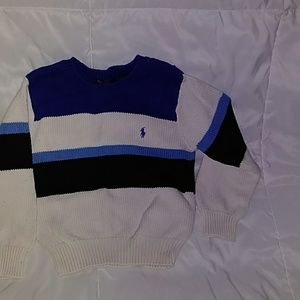 Polo toddler cotton sweater